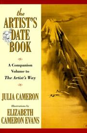 Cover of: The artist's date book: a companion volume to The artist's way
