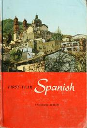 Cover of: First-year Spanish | Charles Neff Staubach