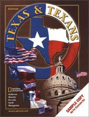 Cover of: Texas and Texans | Anderson