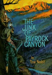Cover of: The jinx of Payrock Canyon | Franklin Folsom