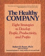 Cover of: The healthy company