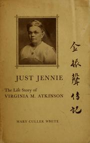 Cover of: Just Jennie | Mary Culler White