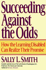 Cover of: Succeeding Against the Odds: Strategies and Insights From the Learning Disabled