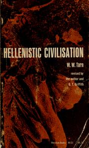 Cover of: Hellenistic civilisation