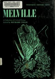 Cover of: Melville: a collection of critical essays. | Richard Volney Chase