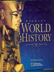 Cover of: Glencoe World History