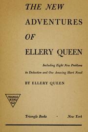 The new adventures of Ellery Queen