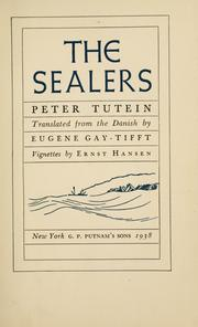 Cover of: The sealers | Peter Tutein
