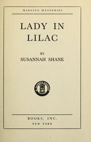 Cover of: Lady in lilac by Harriette Ashbrook
