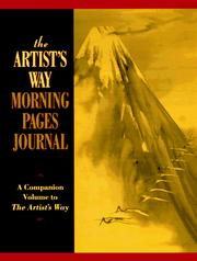 Cover of: The artist's way morning pages journal: a companion volume to the artist's way