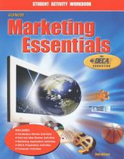 Cover of: Marketing Essentials, Student Activity Workbook