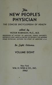 Cover of: The New people's physician by Victor Robinson