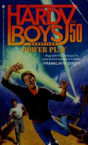 Cover of: Power play | Franklin W. Dixon