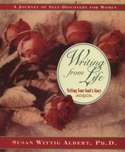 Cover of: Writing from life | Susan Wittig Albert