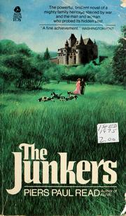 Cover of: The Junkers | Piers Paul Read