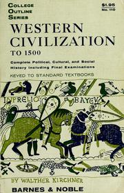Cover of: Western civilization since 1500. | Walther Kirchner