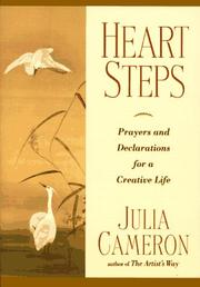 Cover of: Heart steps: prayers and declarations for a creative life