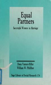 Cover of: Equal partners | Dana Vannoy