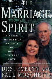 Cover of: The marriage spirit | Evelyn Moschetta