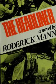 Cover of: The headliner by Roderick Mann