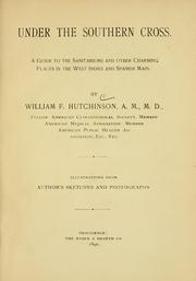 Cover of: Under the Southern Cross | William Francis Hutchinson
