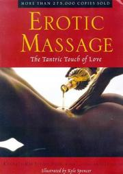 Cover of: Erotic massage | Kenneth Ray Stubbs