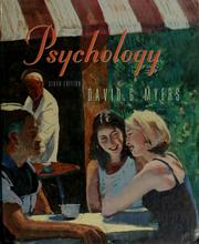 Cover of: Psychology | David G. Myers
