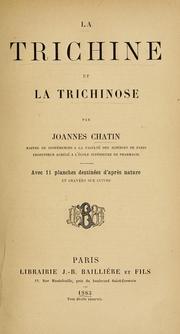La trichine et la trichinose (1883 edition) | Open Library