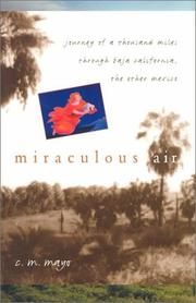 Cover of: Miraculous air | C. M. Mayo