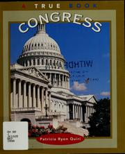 Cover of: Congress | Patricia Ryon Quiri