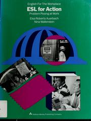 Cover of: ESL for action | Elsa Auerbach