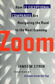 Cover of: Zoom by James M. Citrin