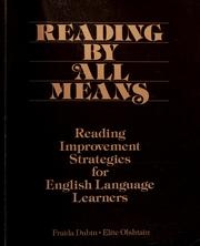 Cover of: Reading by All Means | Elite Olshtain