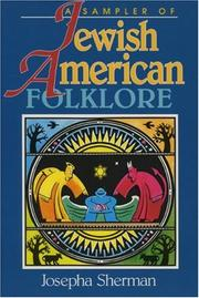 Cover of: Jewish-American Folklore