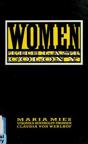 Cover of: Women | Maria Mies