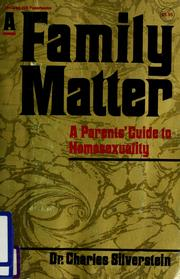 Family Matter by Charles Silverstein