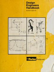 Cover of: Design engineers handbook | Parker Hannifin Corporation