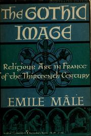 Cover of: The Gothic image | Emile Mâle