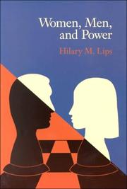 Cover of: Women, men, and power | Hilary M. Lips