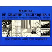 Cover of: Manual of graphic techniques 2
