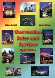 Convention sales and services by Milton T. Astroff