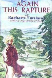 Cover of: Again This Rapture by Barbara Cartland