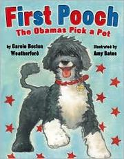 Cover of: First dog: Sasha and Malia pick their pet
