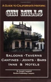 Cover of: A Guide to California Historic Gin Mills