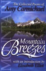 Cover of: Mountain breezes | Amy Carmichael