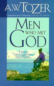 Cover of: Men who met God | A. W. Tozer