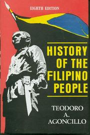 Cover of: History of the Filipino people chapter 1