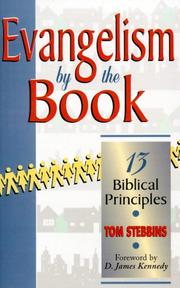 Cover of: Evangelism by the book