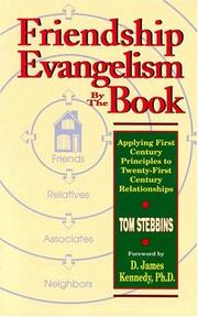 Cover of: Friendship evangelism by the book