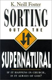 Cover of: Sorting out the supernatural